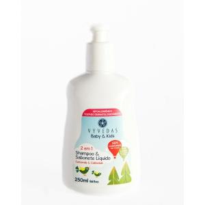 shampoo e sabonete natural vegano vyvedas