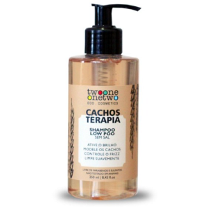 Shampoo Cacho Terapia Natural e Vegano Chia e Linhaça Twoone Onetwo