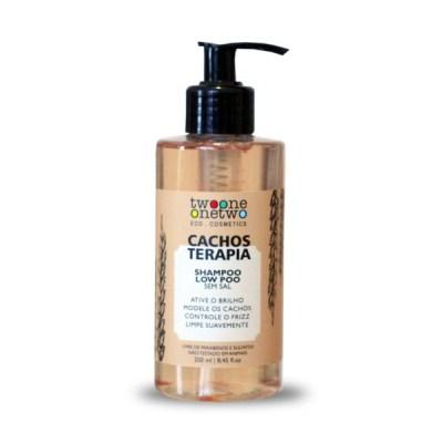 Shampoo Cacho Terapia Natural e Vegano